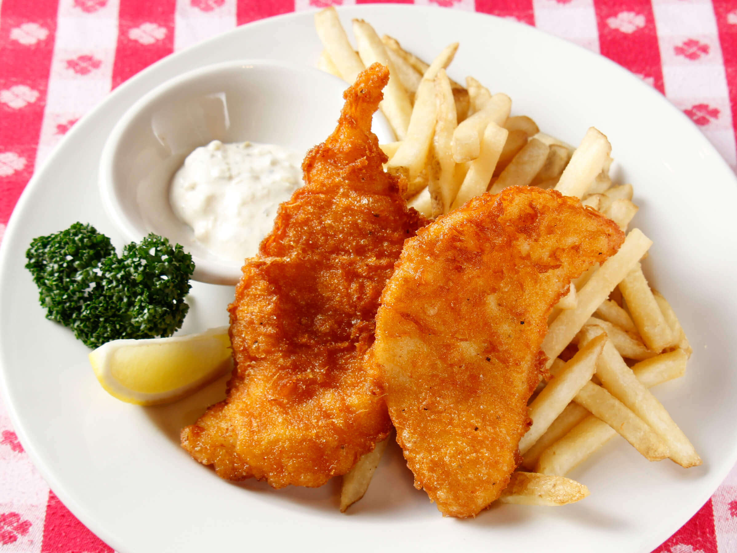Old Fashioned Fish-N-Chips